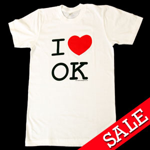 I Love OK (White)
